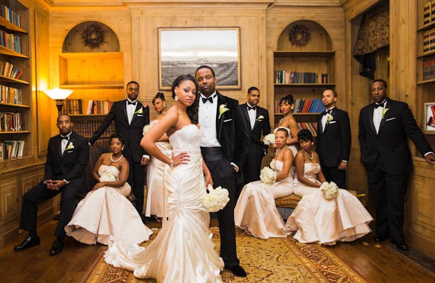 Bridal Bliss: Dana and Mike's Maryland Mansion Wedding