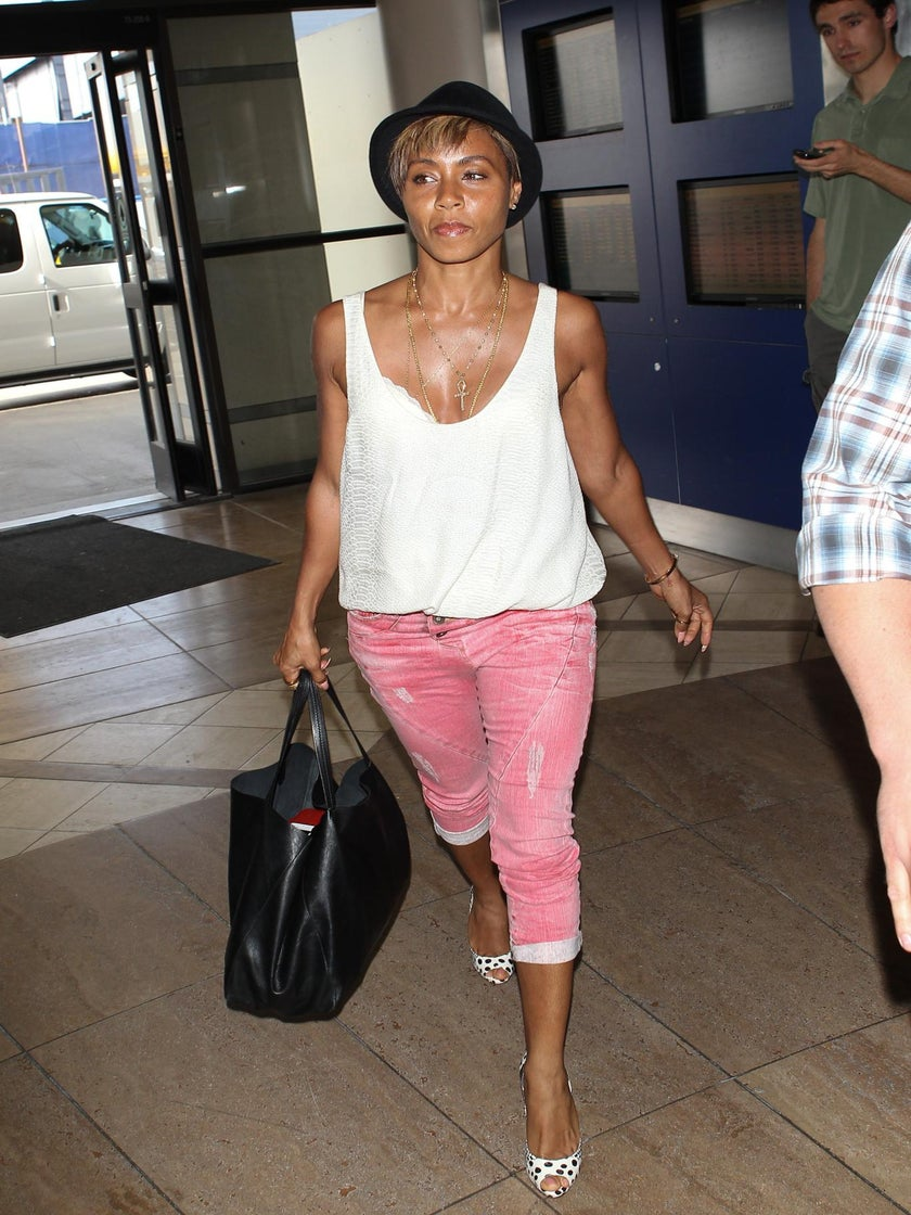 Jada Pinkett Smith Changes Her Look With a Pixie Cut