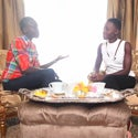 Must See: Lupita Nyong'o Talks With Her Beauty Icon, Alek Wek