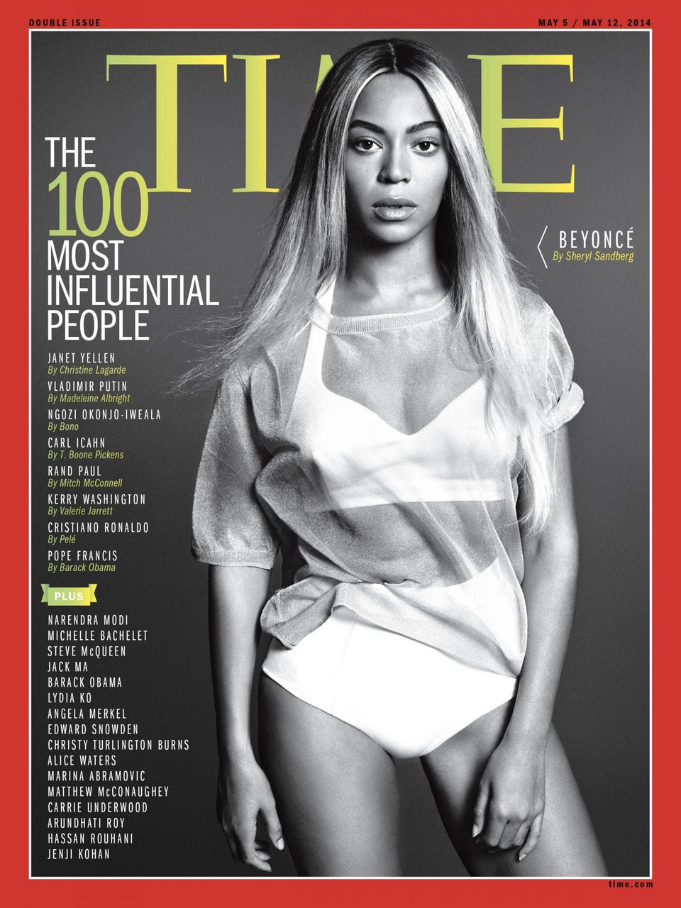 Beyoncé Covers Time's Most Influential People Issue