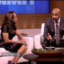 Must-See: Steve Harvey Welcomes Wife On His Show's First 'Couples Summit'