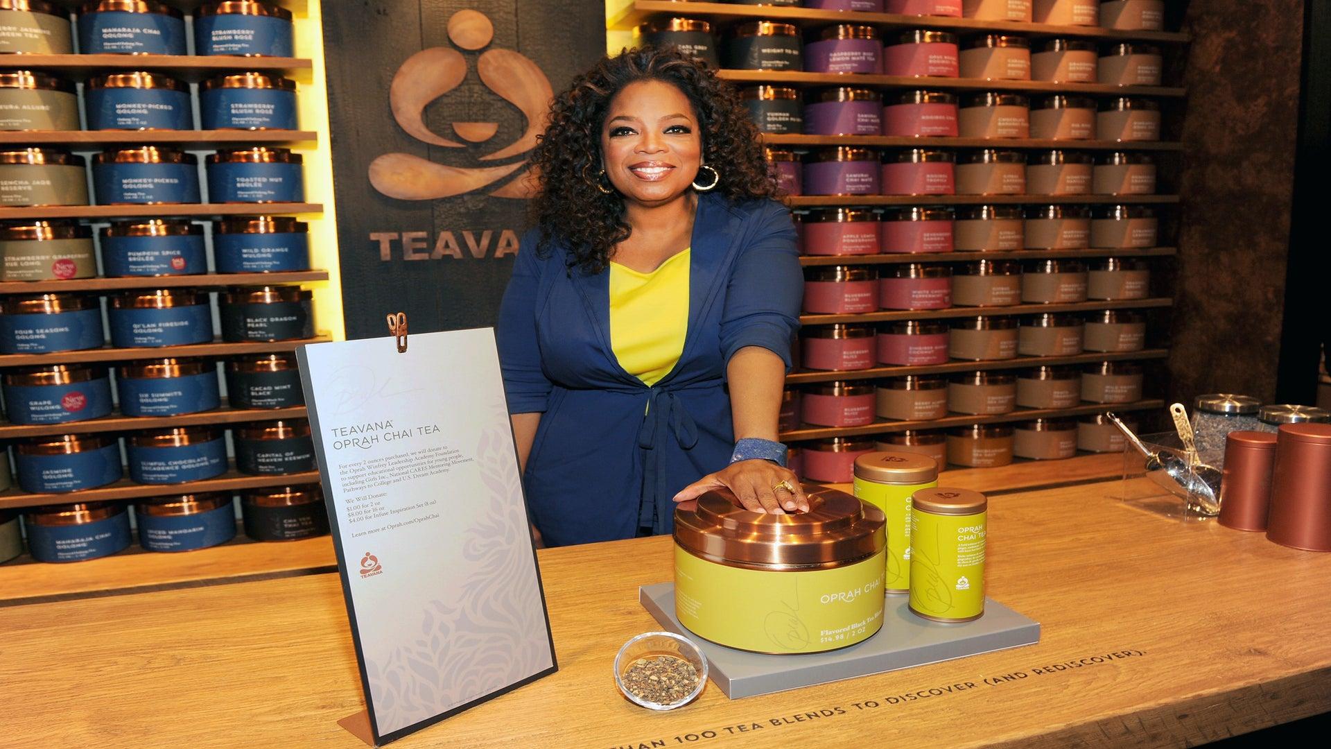 Coffee Talk: Oprah Debuts 'Oprah Chai Tea'