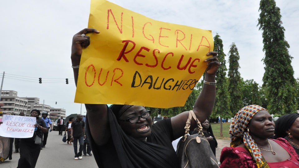 Nigerian Women Organize 'Million Woman March' for Abducted Schoolgirls