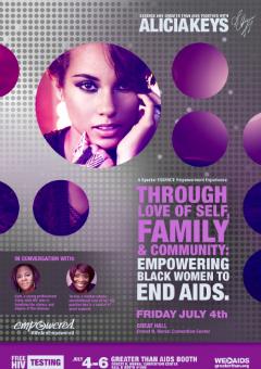 Alicia Keys to Headline AIDS Panel at 2014 Essence Festival