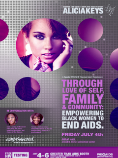 Alicia Keys to Headline AIDS Panel at 2014 Essence Festival