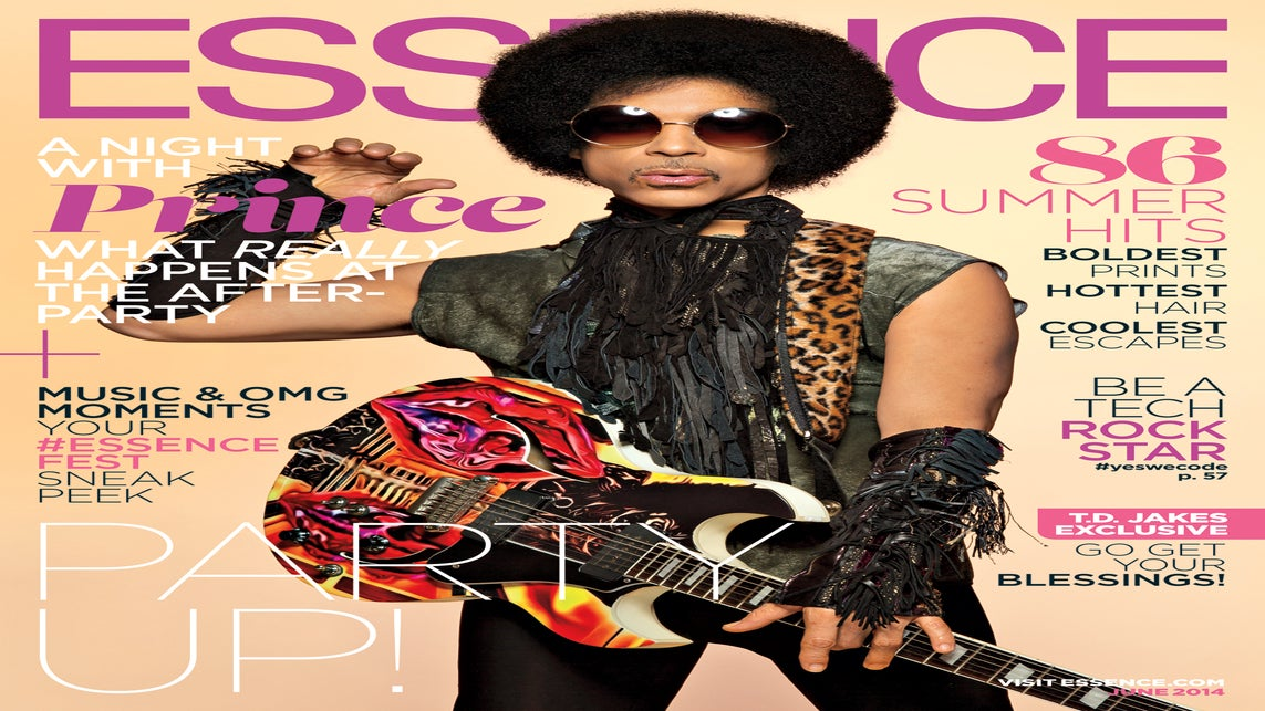 Prince Rocks the Cover of ESSENCE's June Issue