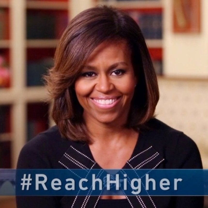 FLOTUS Inspires Students to #ReachHigher with New Social Media Campaign