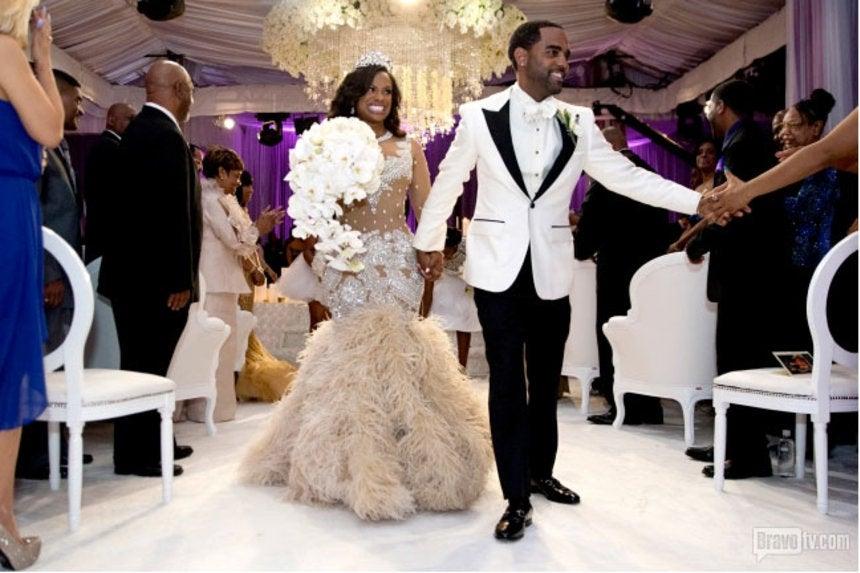 Inside Kandi Burruss And Todd Tucker S Wedding Day Essence