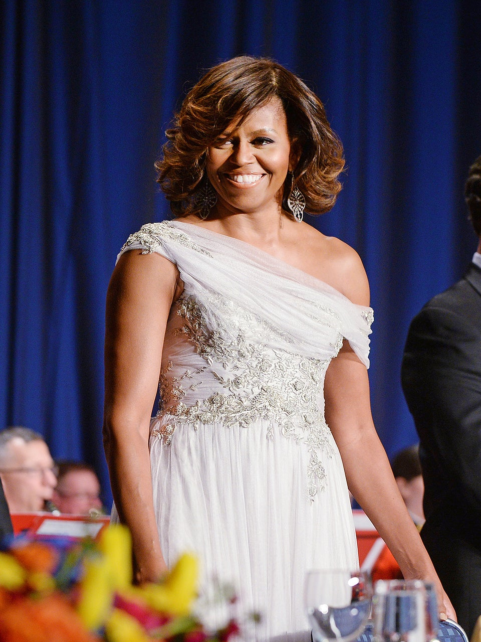 First Lady Style: Gorgeous at The Gala