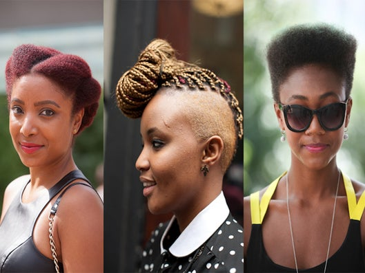 Street Style: The Year's Top 50 Natural Hairstyles