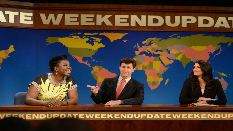 SNL's Leslie Jones Defends Slave Draft Skit, Says Black People Are 'Too Sensitive'