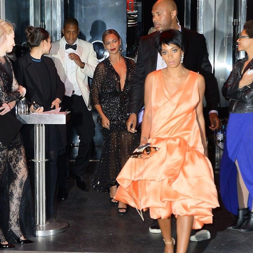 Solange Allegedly Attacks Jay Z in Video
