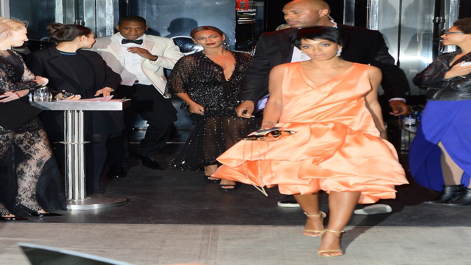 Solange Allegedly Attacks Jay Z in Video