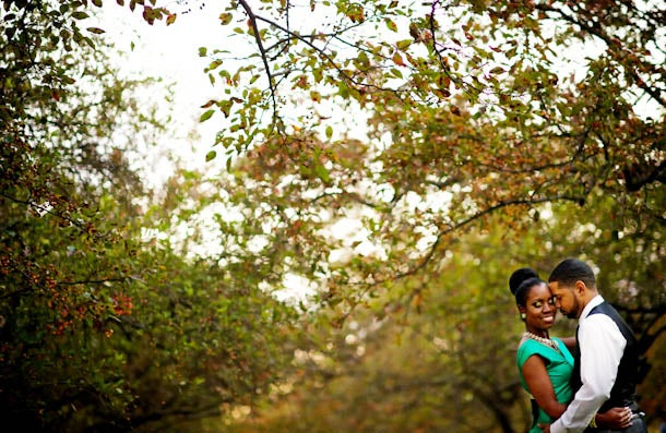 Just Engaged: Juliette and Terrance's Engagement Story