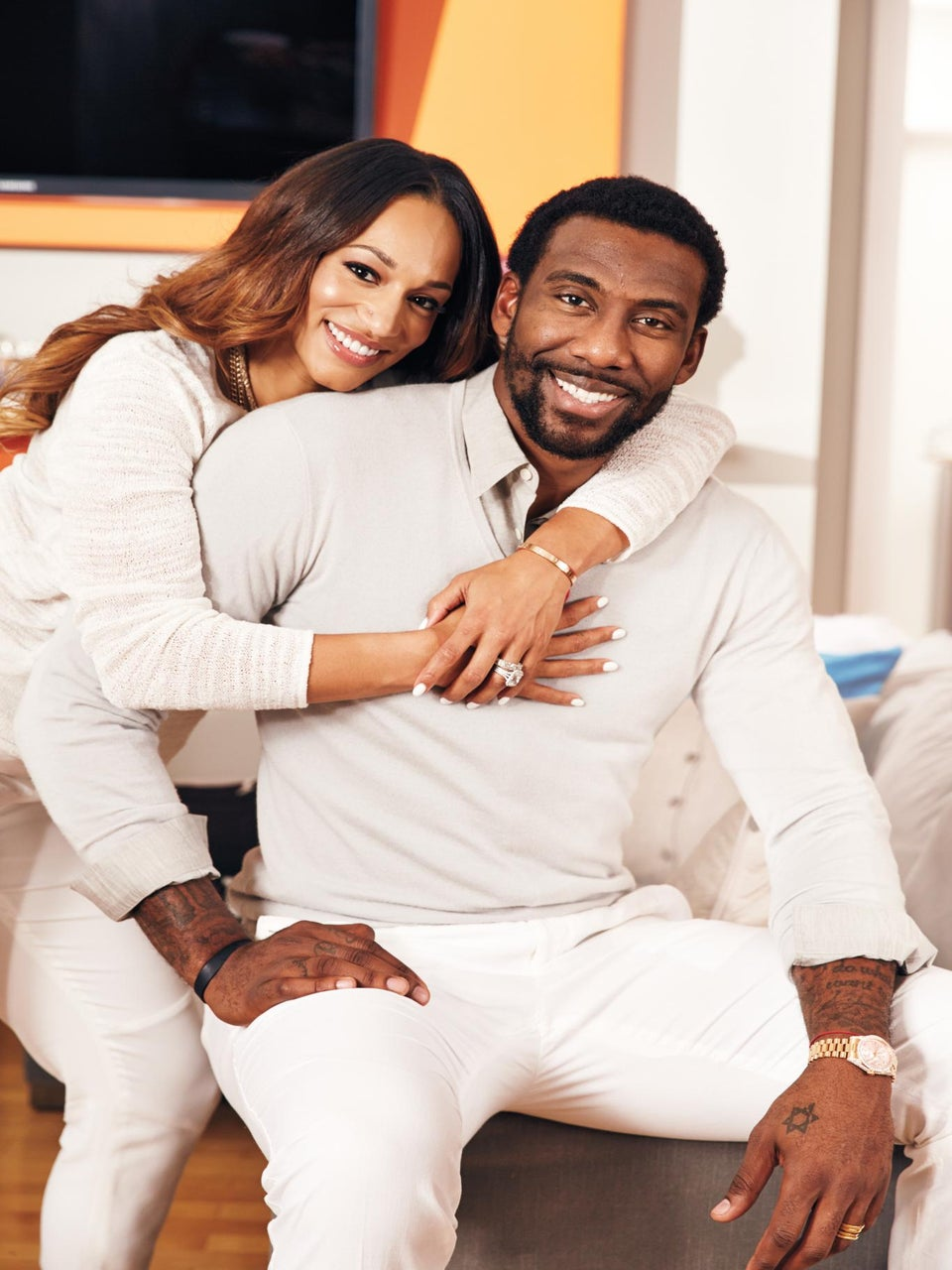 Happy at Home: Alexis and Amar'e Stoudemire Talk Family Life
