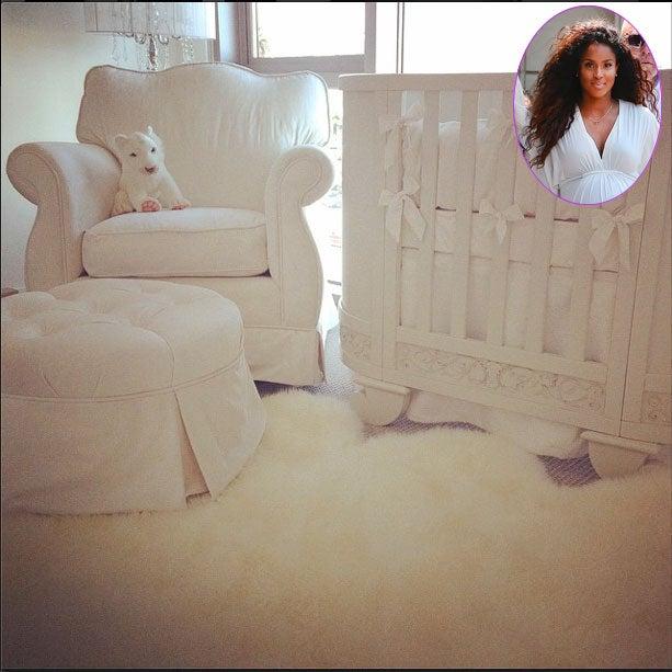 Photo Fab: Ciara Shows Off Her Baby's Nursery