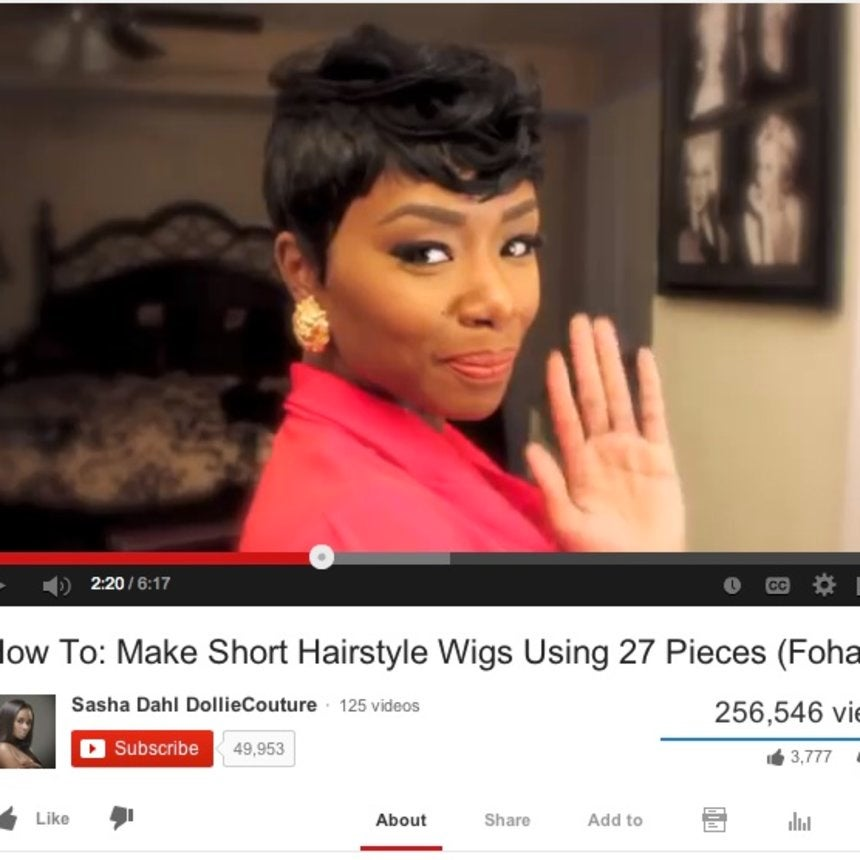 Best of YouTube: How To Make Short Haired Wigs