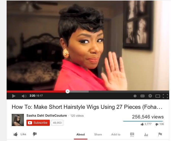 Best Of Youtube How To Make Short Haired Wigs Essence