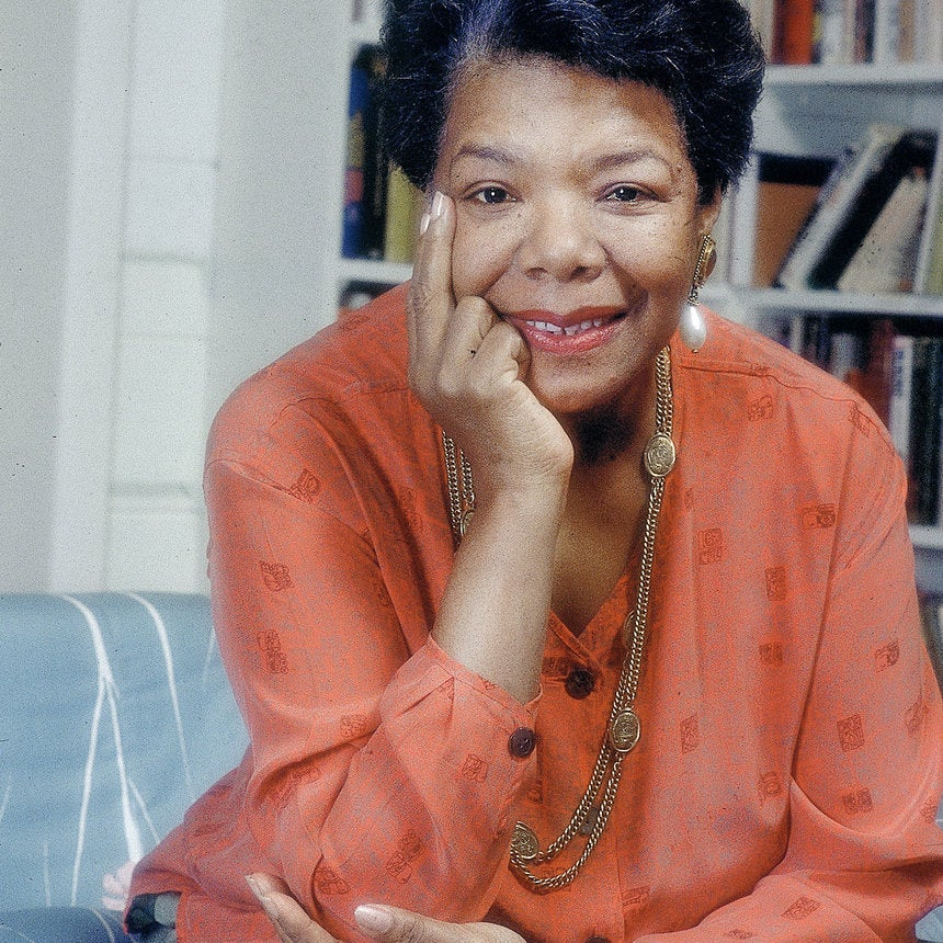 Coffee Talk: Maya Angelou's Estate Releases Posthumous Album of Her Poetry