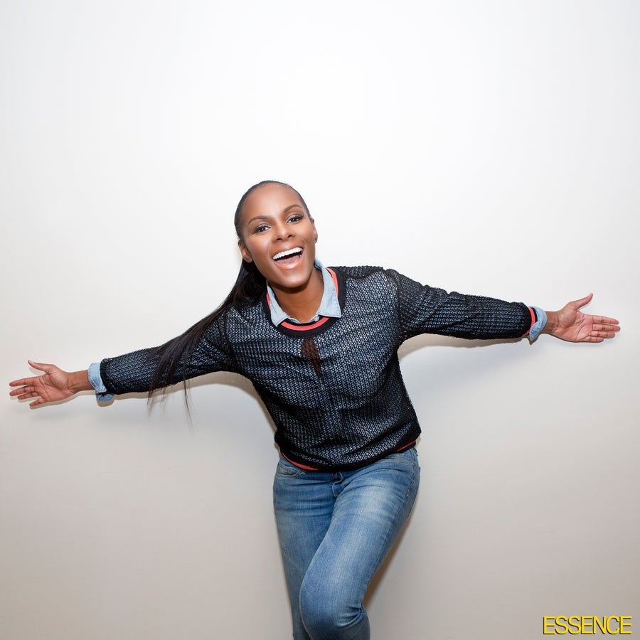 Tika Sumpter Gives Hair Advice, Explains Which Products She's Obsessed With