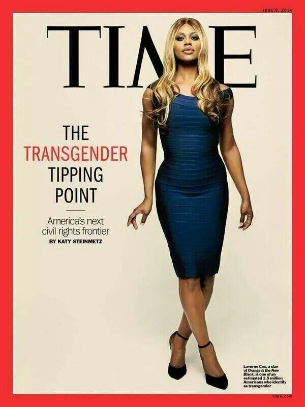 Laverne Cox Becomes First Transgender Woman to Cover TIME Magazine