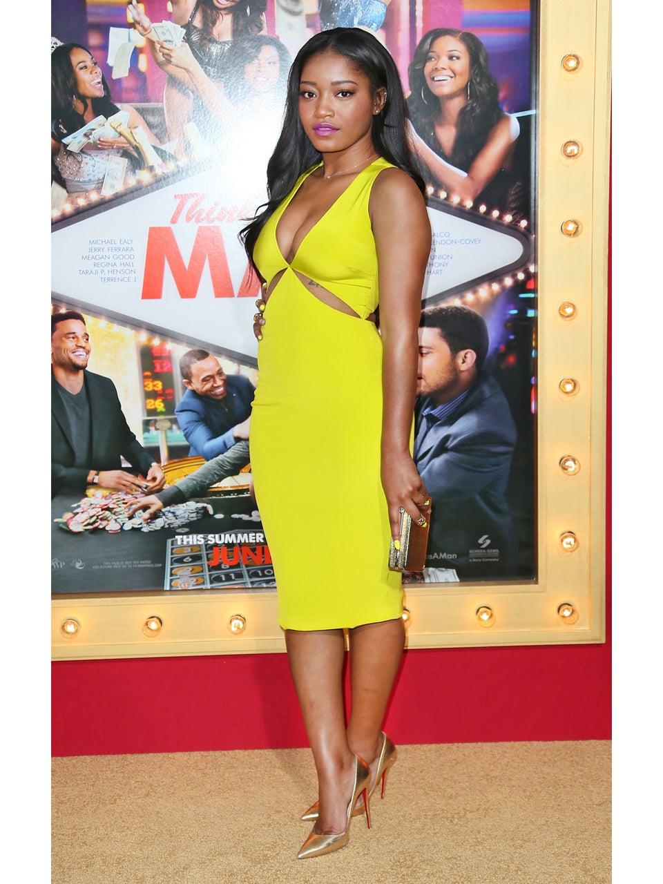 Keke Palmer Gets TV Hosting Advice from Queen Latifah
