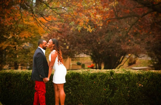 Just Engaged: Makeda and Eric's Engagement Story