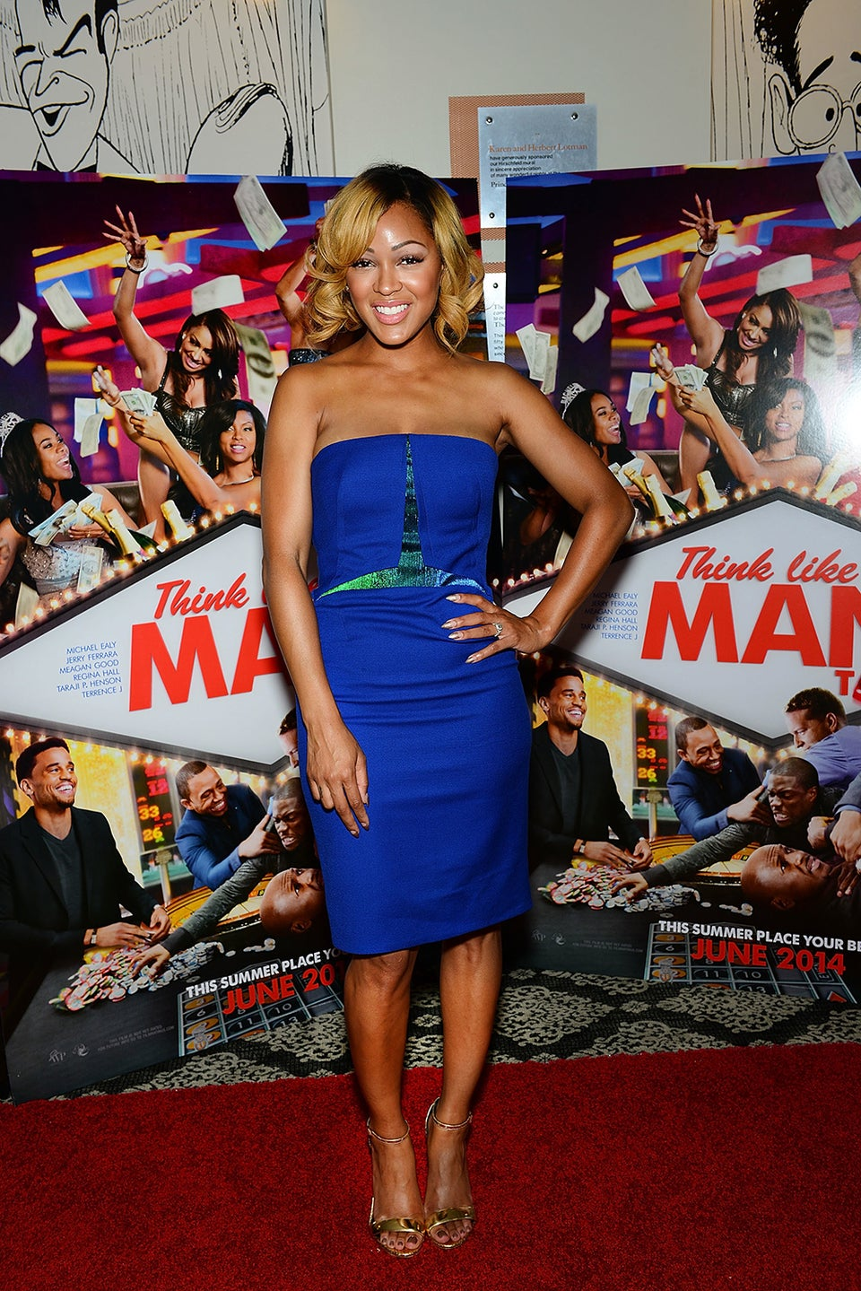 Meagan Good Dismisses Skin Bleaching Rumors, Says 'I Love My Complexion'