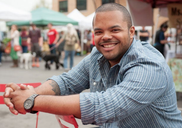 In the Kitchen with Roger Mooking, Try His Blue Cheese and Chorizo Balls Recipe