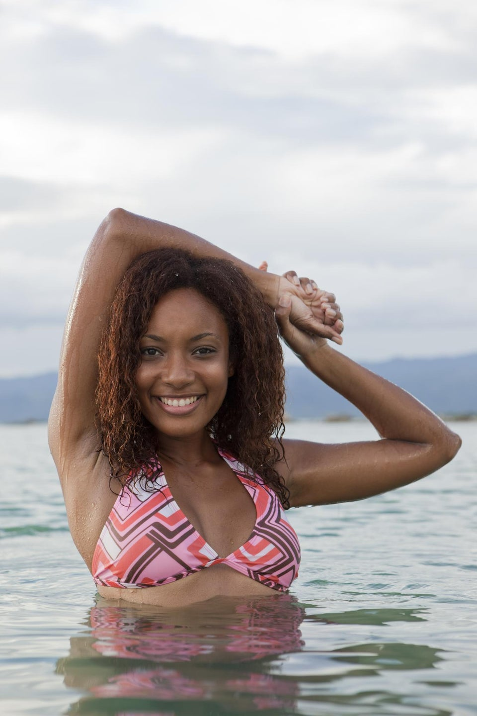 Super Natural: MahoganyCurls On How To Protect Curls From  Saltwater