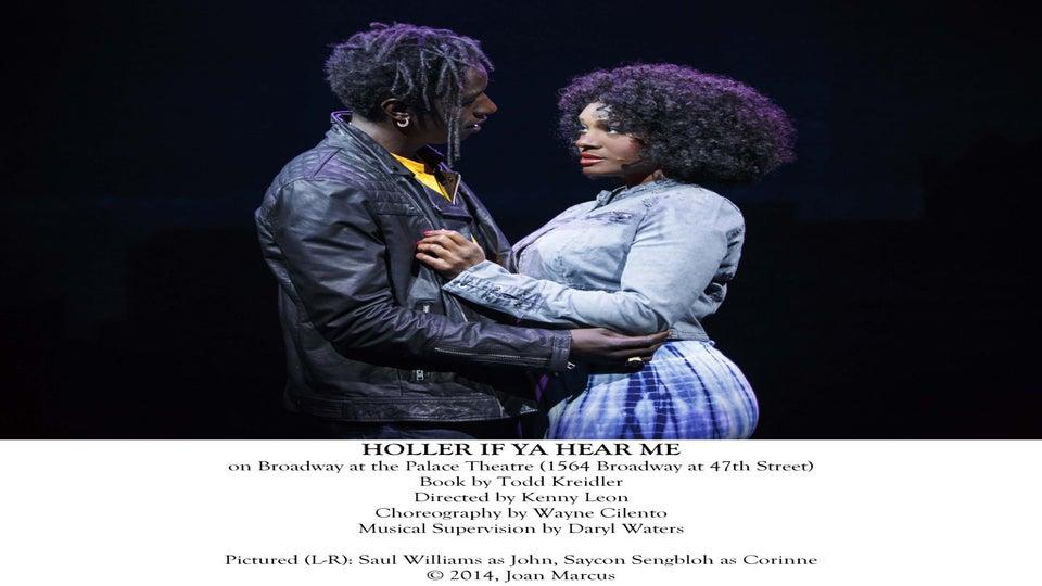 'Holler If Ya Hear Me' Star Saycon Sengbloh on Performing Tupac's Music on Broadway