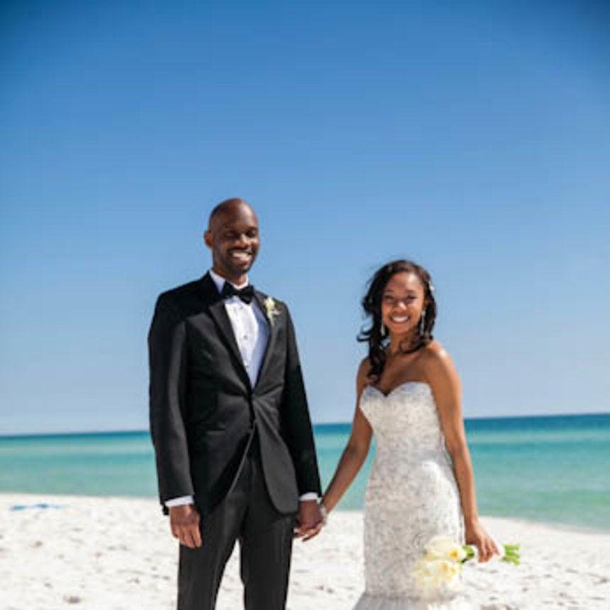 Bridal Bliss: Jasmine and Mark\'s Florida Wedding - Essence
