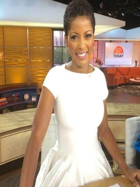 Tamron Hall Wears Natural Hair on 'Today' Show For The First Time
