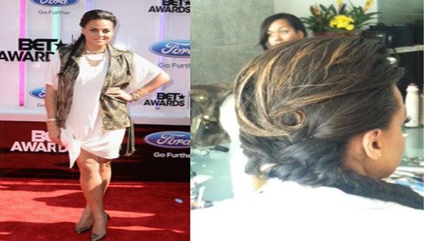 Get The Look: Marsha Ambrosius' Hair At The 2014 BET Awards