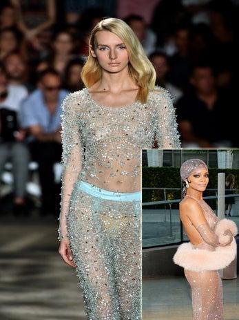Did Rihanna's Sheer CFDA Dress Spark a Trend?