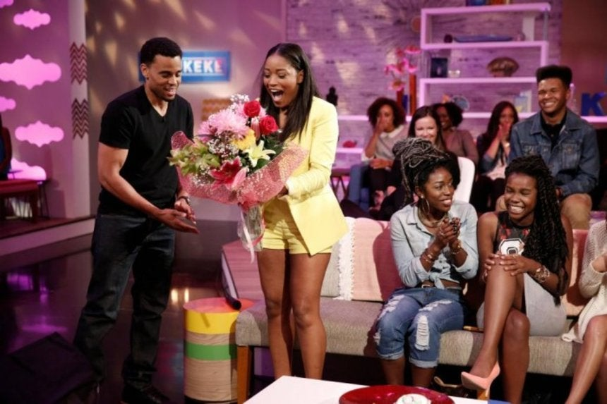 Must-See: Keke Palmer Gets Surprised By Her Crush Michael Ealy ...