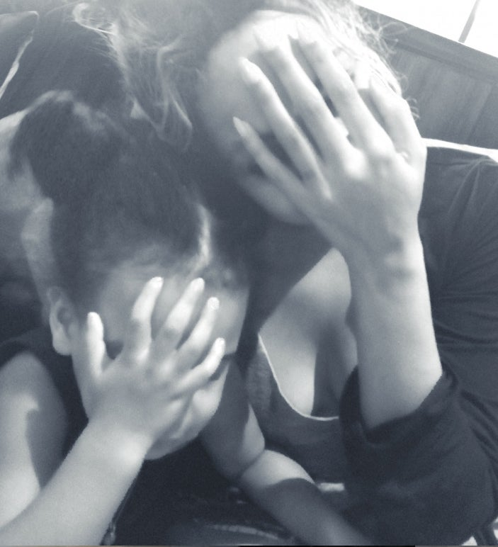 Photo Fab: Beyonce and Blue Play Peek-A-Boo
