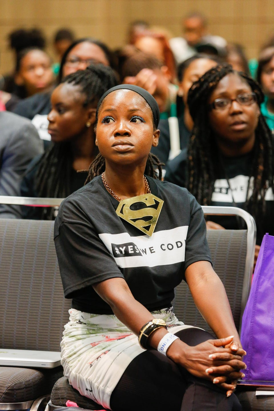 Kids Learn How to Code at Essence Festival Hack-A-Thon