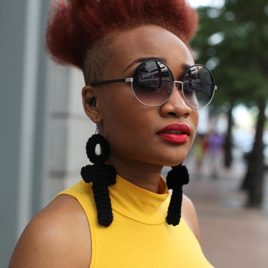 Hair Street Style: Naturals at Festival