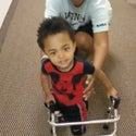 Watch Adorable 2-Year-Old Amputee Take His First Steps with Prosthetic Leg