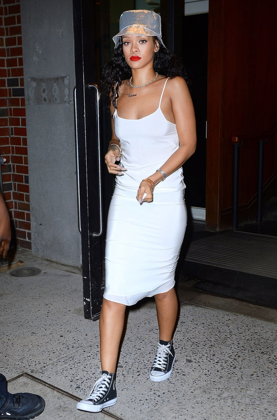 Rihanna's Stalker Arrested After Leaving Threatening Notes