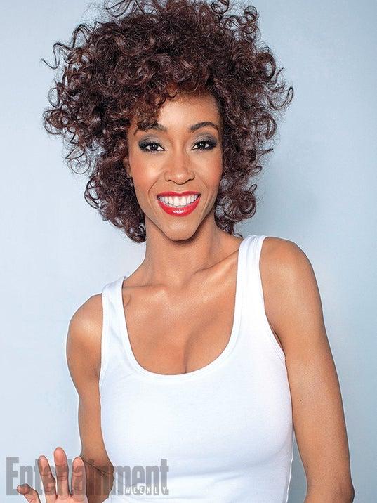 Photo Fab: Yaya DaCosta Channels Whitney Houston for Lifetime Biopic