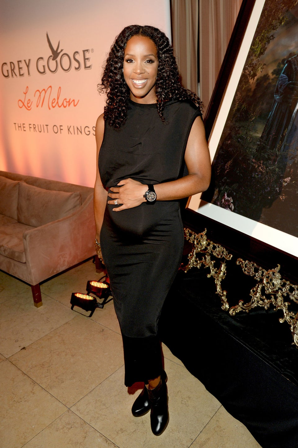 Kelly Rowland Praises Hubby For Being Hands-On During Her Pregnancy