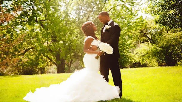 Bridal Bliss: Omonye and Seun's Michigan Wedding