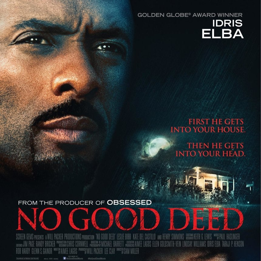 Poster Reveal: See Idris Elba and Taraji P. Henson in 'No Good Deed'