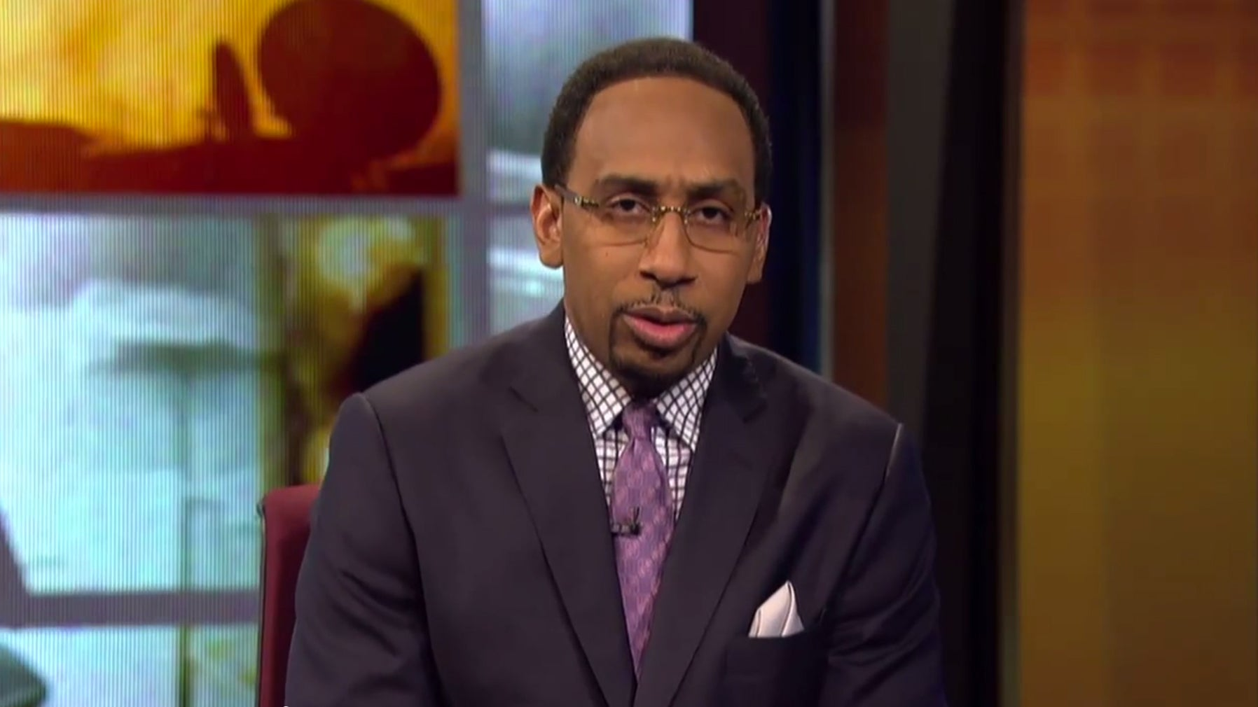 Stephen A. Smith Apologizes for Comments About Domestic Violence