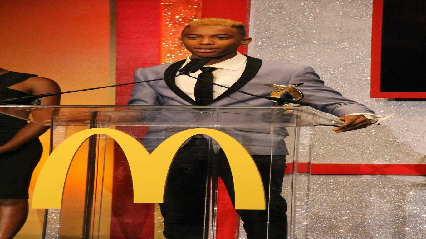 Young Art Phenom Receives High Honor at MDonald's 365Black Awards