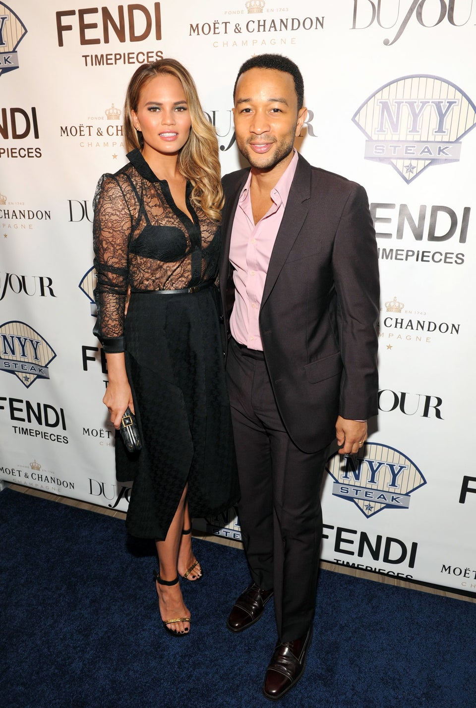 Coffee Talk: John Legend and Chrissy Teigen Hire Food Trucks to Feed NYC Protesters