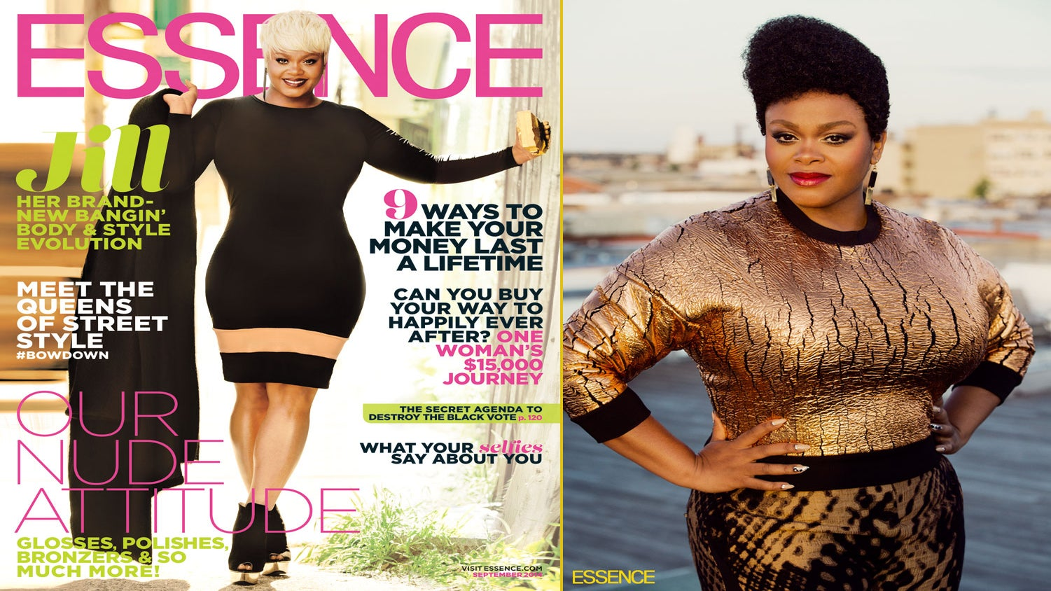 3 Things We Learned About ESSENCE September Cover Girl Jill Scott