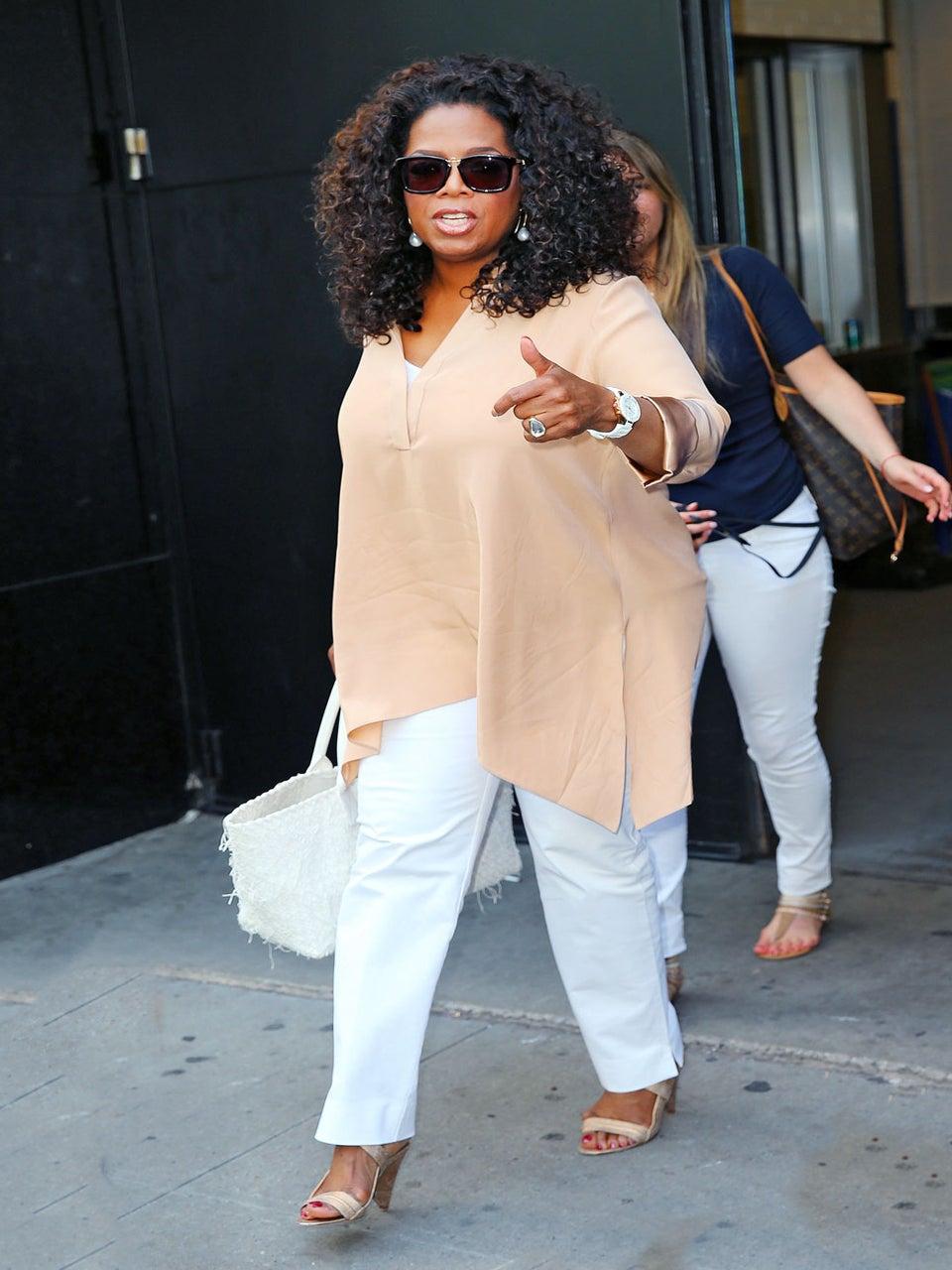 Oprah: 'I Cook for Stedman All The Time'